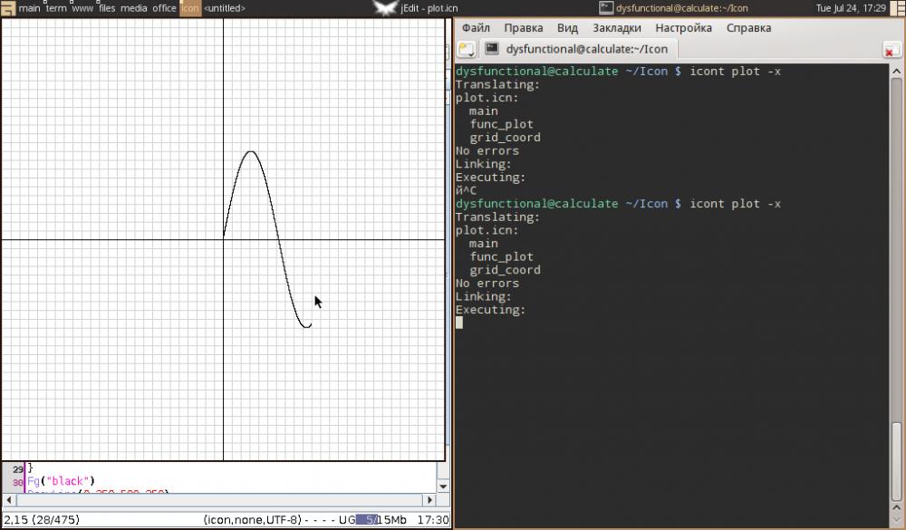 """func_plot(0,100,""""sin"""")"""